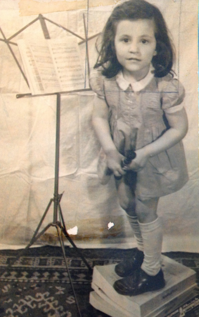 Author, Age 4, Abigail L. Rosenthal