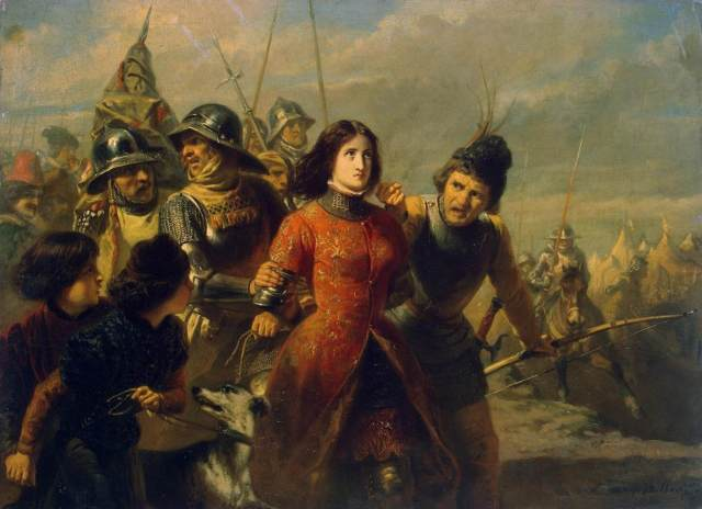 The Capture of Joan of Arc, Dillens