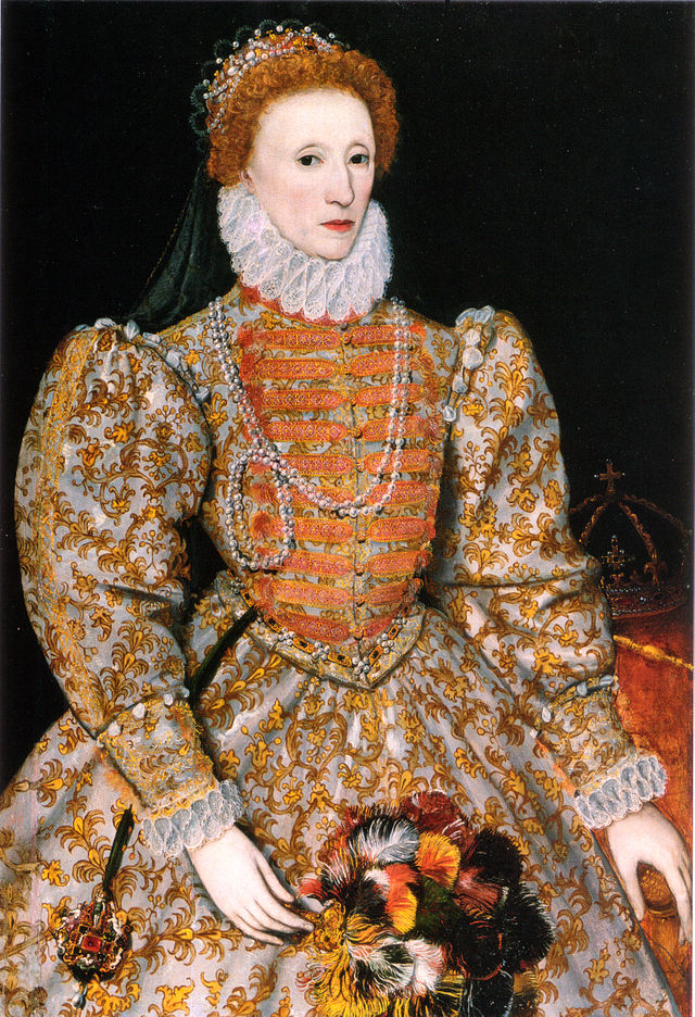 The Darnley Portrait of Queen Elizabeth I