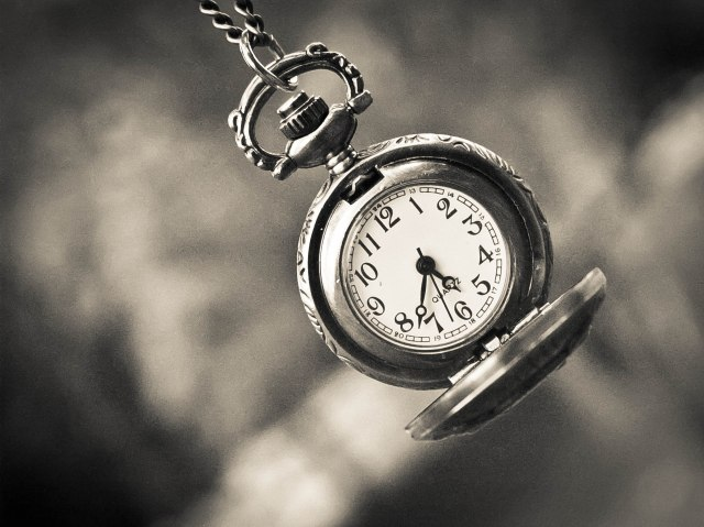 Pocket watch, time, clock