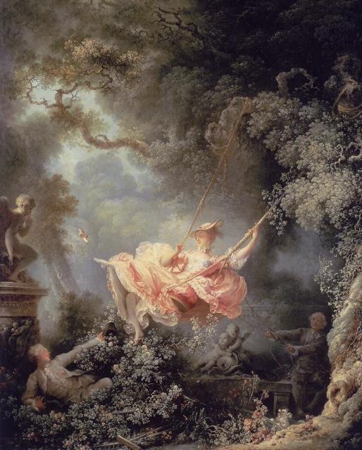 """The Swing,"" Jean-Honoré Fragonard, 1767"