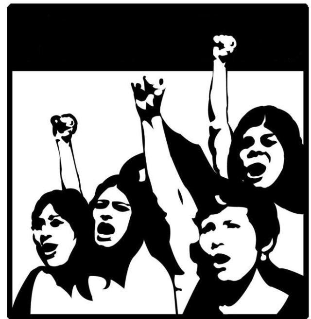 feminist silhouette
