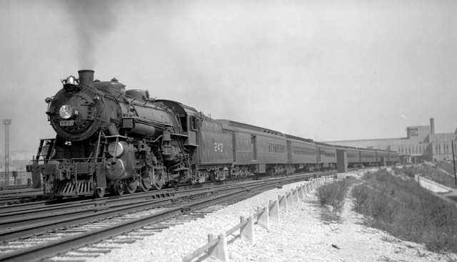 The Pan-American ran between Cincinnati, Louisville, Nashville, and New Orleans from the mid-1920s until 1971.