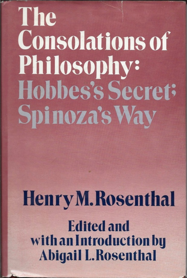Consolations of Phlosophy Cover