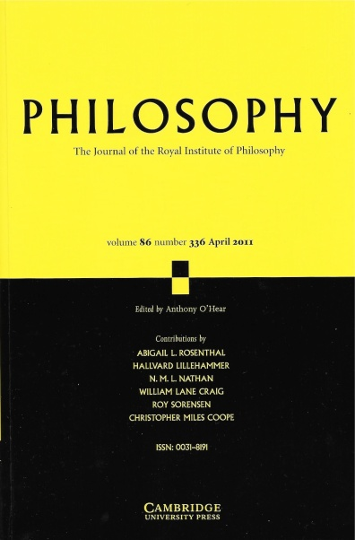 philosophy-volume-86-cover