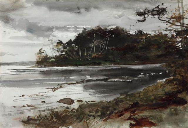 """""""Along the Coast"""" Andrew Wyeth, 1950"""