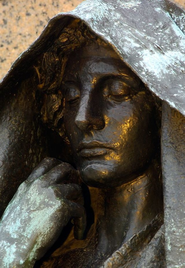 Adams Memorial or Grief, Augustus Saint-Gaudens, 1891