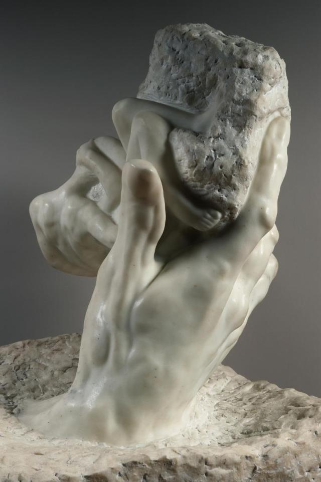"""The Hand of God"" Rodin, 1907"